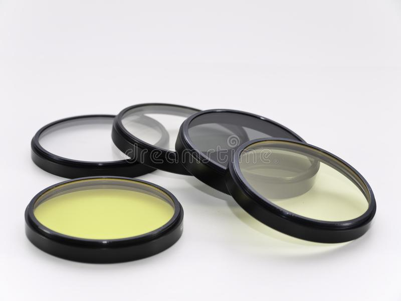 16mm film lens filters royalty free stock images