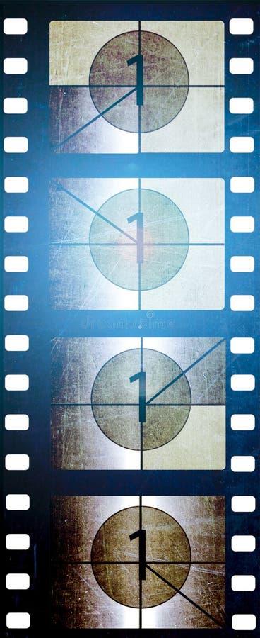 35 mm-film met teller royalty-vrije stock foto's