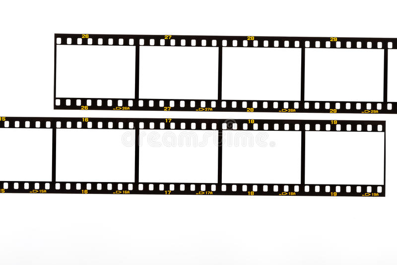 35mm. film strip stock photos