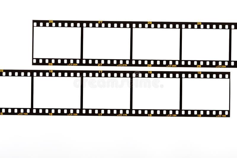 35mm Filmen Sie Streifen stockfotos