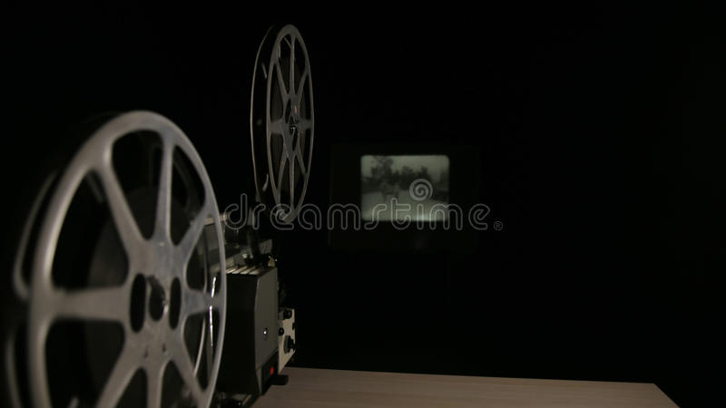 16mm filmprojector stock afbeeldingen