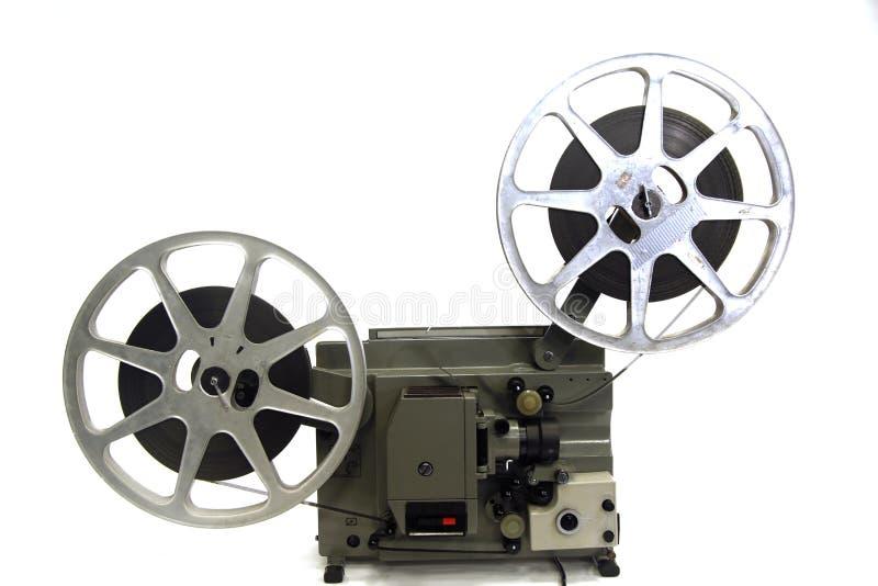 16mm filmprojector stock afbeelding