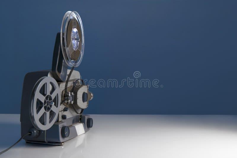 8mm filmprojektor royaltyfria bilder