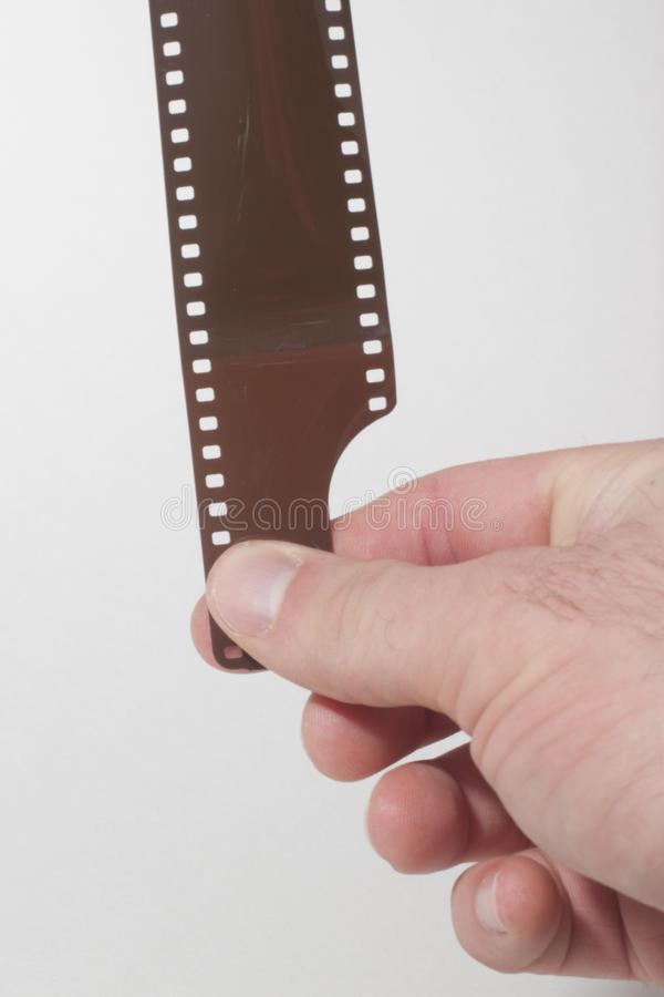35mm Filmstrook royalty-vrije stock afbeelding