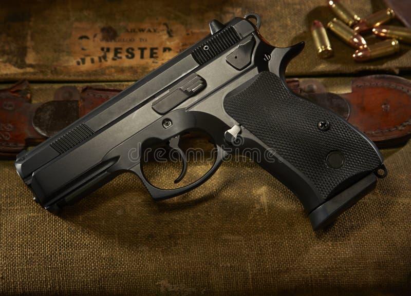 9mm Gewehr stockbilder