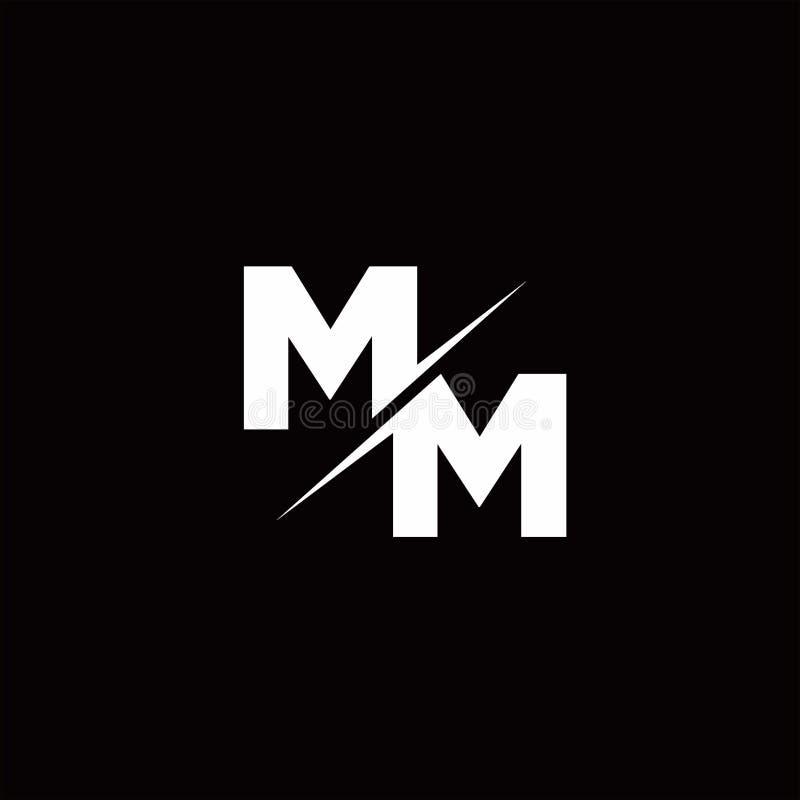 Free MM Logo Letter Monogram Slash With Modern Logo Designs Template Royalty Free Stock Image - 164907836