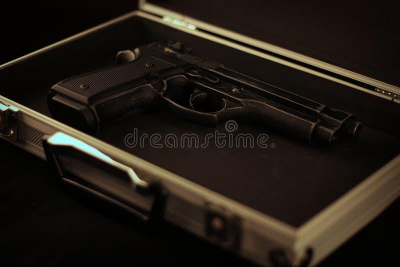 9MM pistool royalty-vrije stock afbeelding