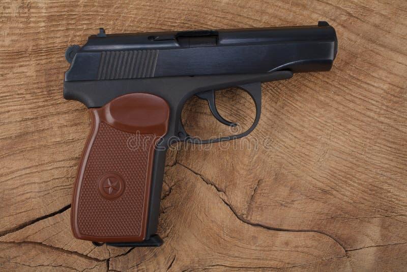 9mm Russisch pistool royalty-vrije stock afbeelding