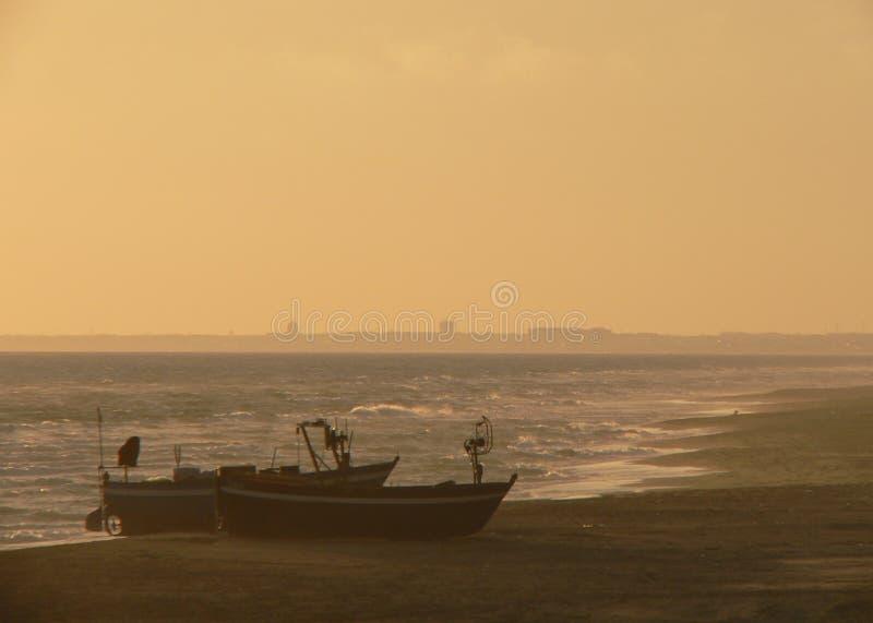MM39-1405 TVJ SEA FISHING BOATS TEL FZ7 OP royalty free stock images
