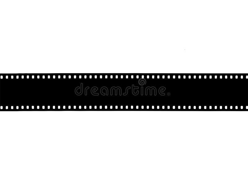 35mm vintage negative abstract retro film background stock illustration