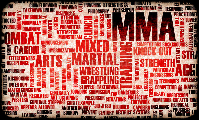 MMA stock illustratie