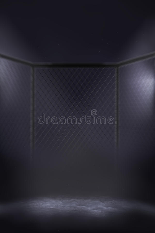 Free MMA Cage Arena Stock Photography - 60350622
