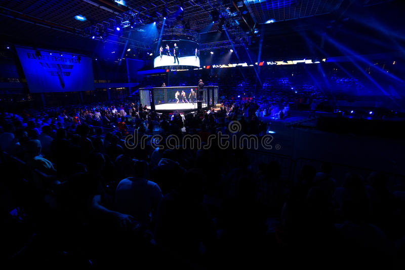 MMA fight turnament stock image
