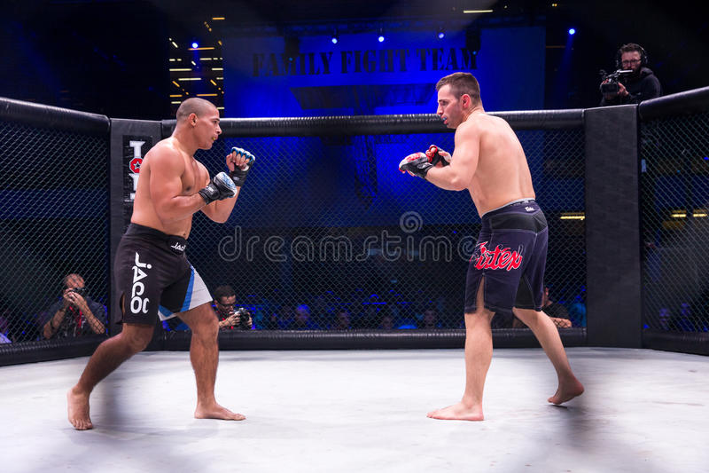 MMA-strijdturnament stock fotografie