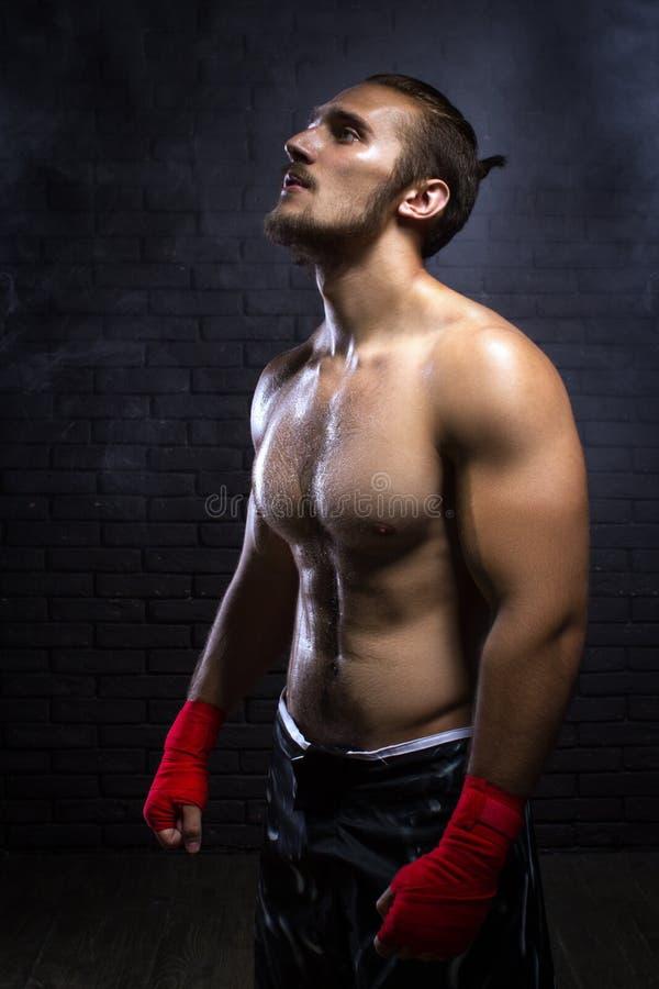 MMA wojownik obrazy stock