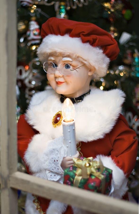 Mme Claus photo libre de droits