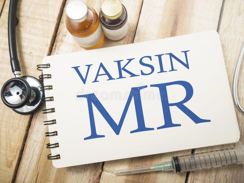 MMR odra Mumps Rubella szczepionka, opieka zdrowotna i Medyczny Concep, obrazy royalty free