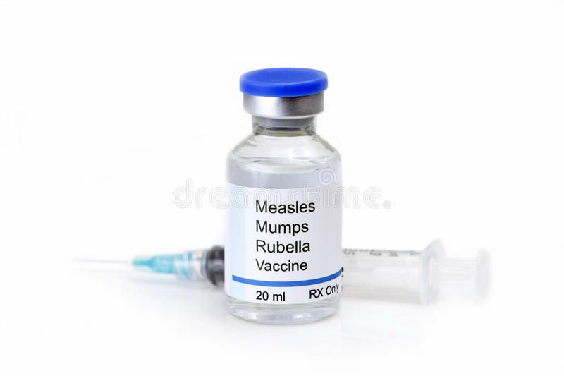 MMR szczepionka zdjęcia royalty free