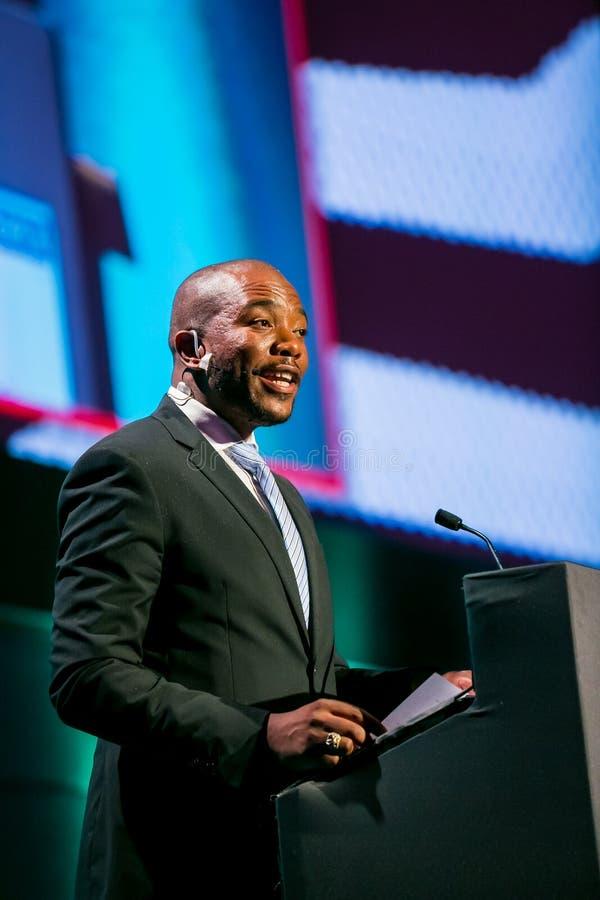 Mmusi Maimane ο ηγέτης της δημοκρατικής συμμαχίας DA στοκ φωτογραφία με δικαίωμα ελεύθερης χρήσης