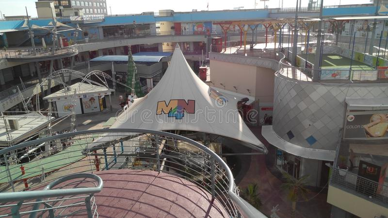 MN4 fotografia stock