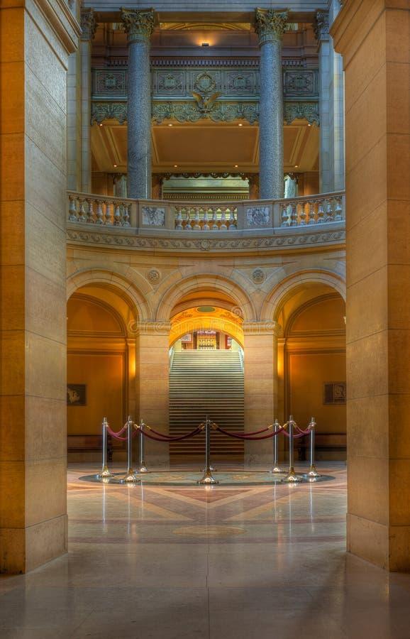 Download MN State Capitol Rotunda stock image. Image of rotunda - 23877301