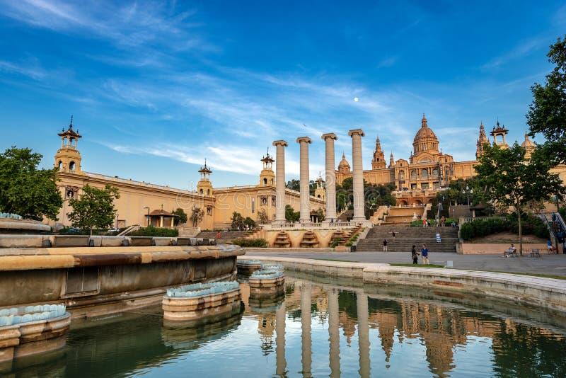 MNAC Museu Nacional d`Art de Catalunya - Barcelona Spain stock image