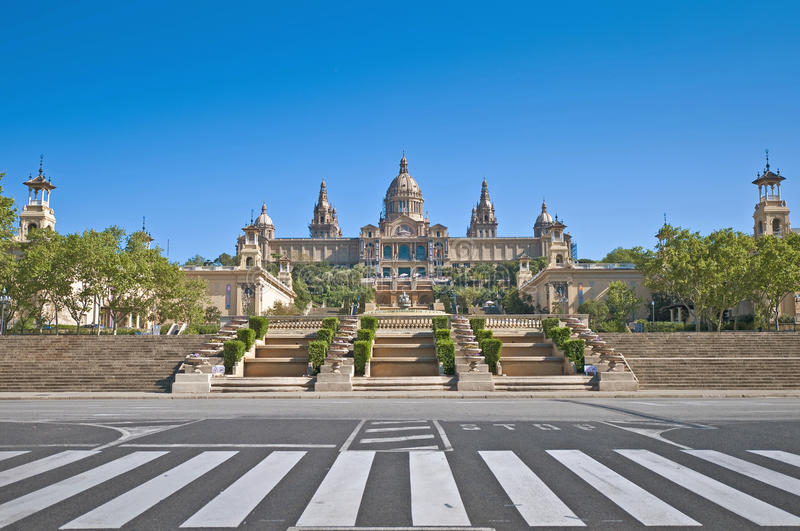 Download MNAC Museum In Barcelona, Spain Stock Photo - Image of culture, mediterranean: 39508516