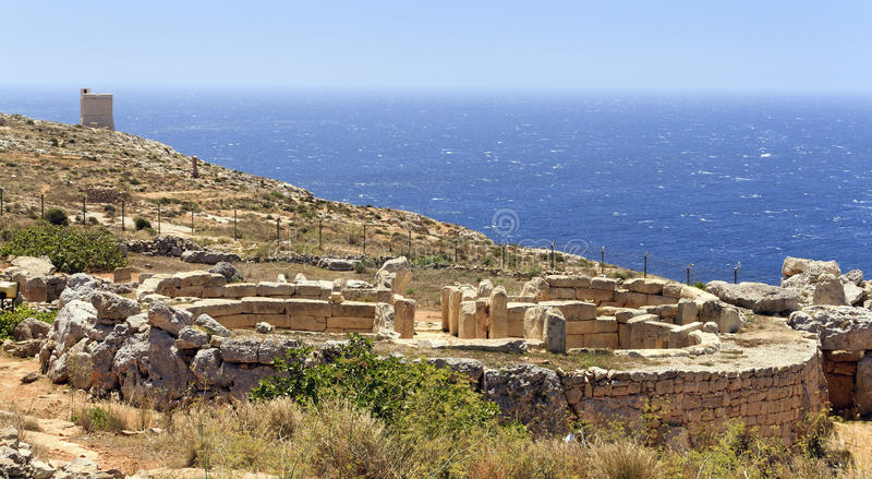 Download Mnajdra stock photo. Image of stone, malta, historical - 21293254