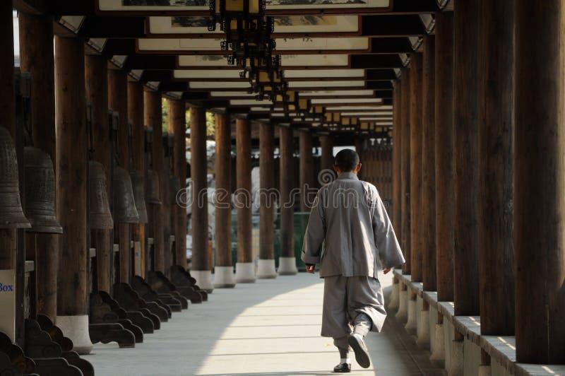 Mnich buddyjski zdjęcie stock