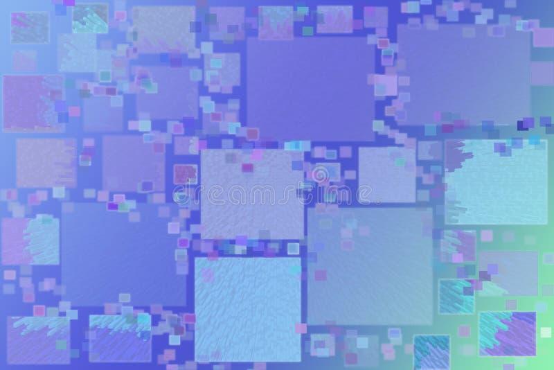 Mnodzy mali kwadraty ilustracji