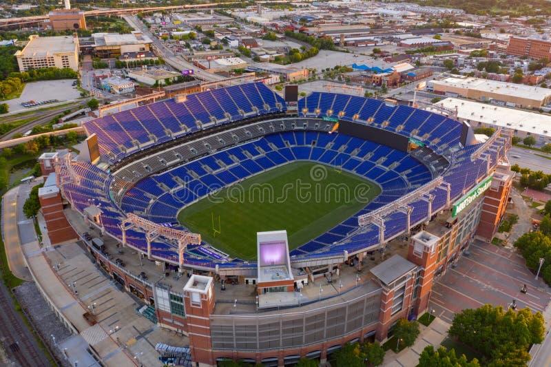 MNT-Bank-Stadions-Baltimore MD stockbilder