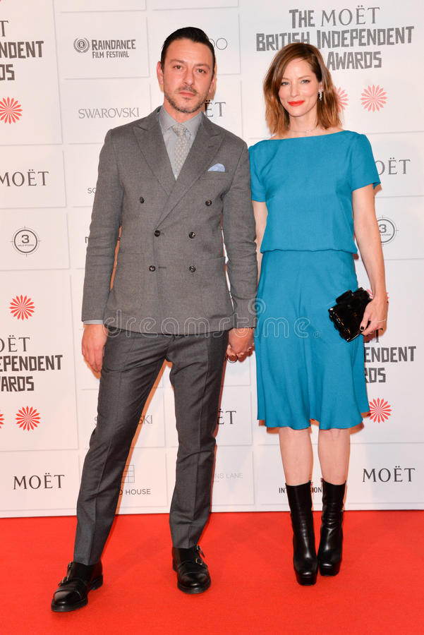 Moà 't Brytyjski Niezależny film Nagradza 2014 zdjęcia royalty free