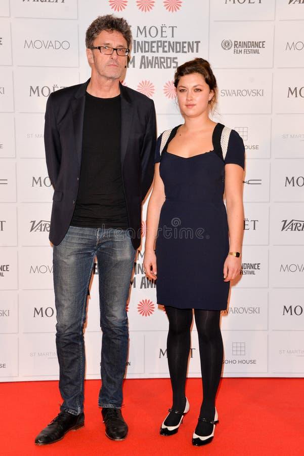 Moà 't Brytyjski Niezależny film Nagradza 2014 zdjęcie royalty free