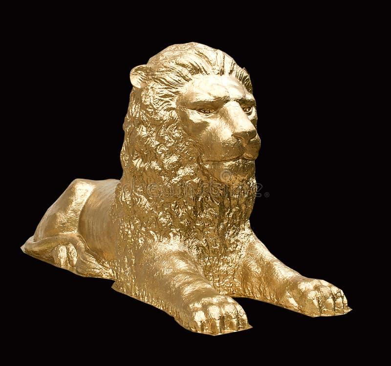 Można, majestatyczna, straszna rzeźba lew, fotografia royalty free