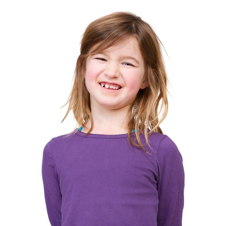Moça de sorriso fotos de stock