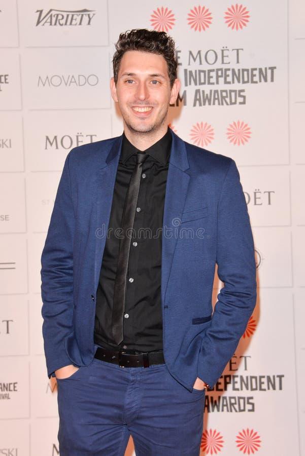 Moët British Independent Film Awards 2014. LONDON, ENGLAND - DECEMBER 07: Blake Harrison attends the Moet British Independent Film Awards 2014 at Old royalty free stock photos