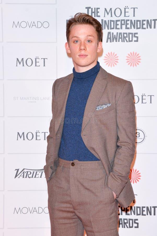 Moët British Independent Film Awards 2014. LONDON, ENGLAND - DECEMBER 07: Joe Cole attends the Moet British Independent Film Awards 2014 at Old Billingsgate royalty free stock images