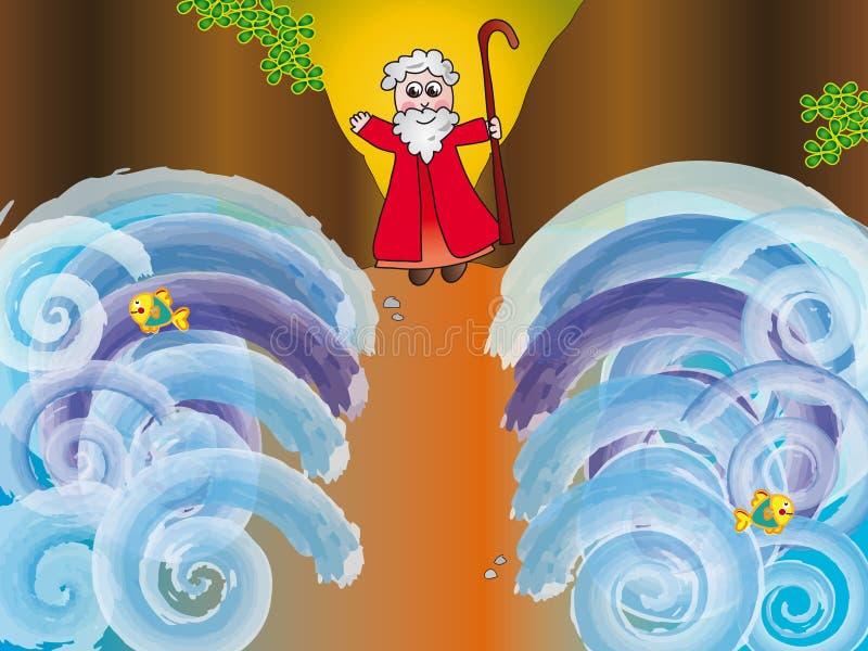 Moïse illustration libre de droits