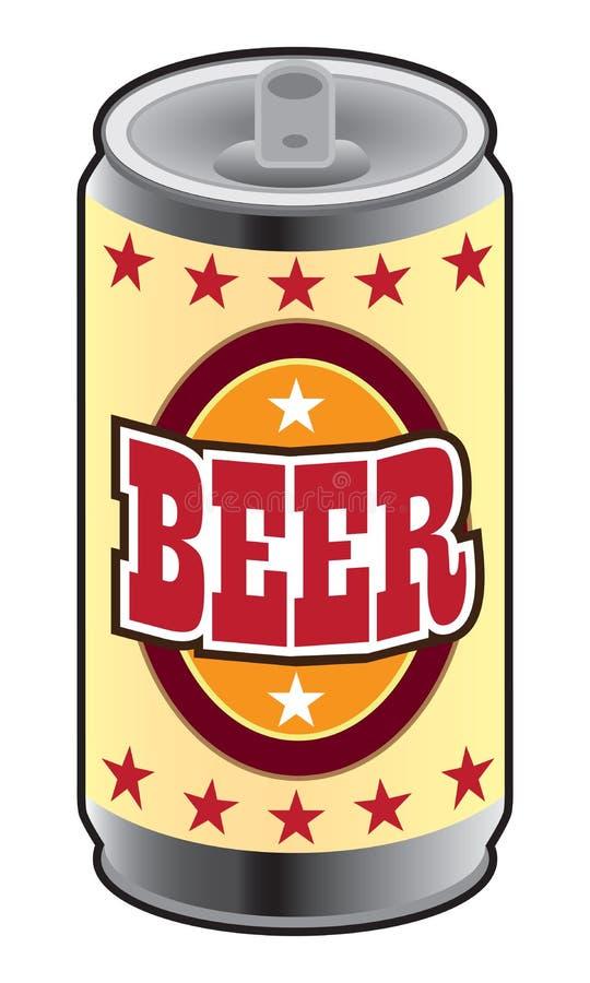 Może piwo royalty ilustracja