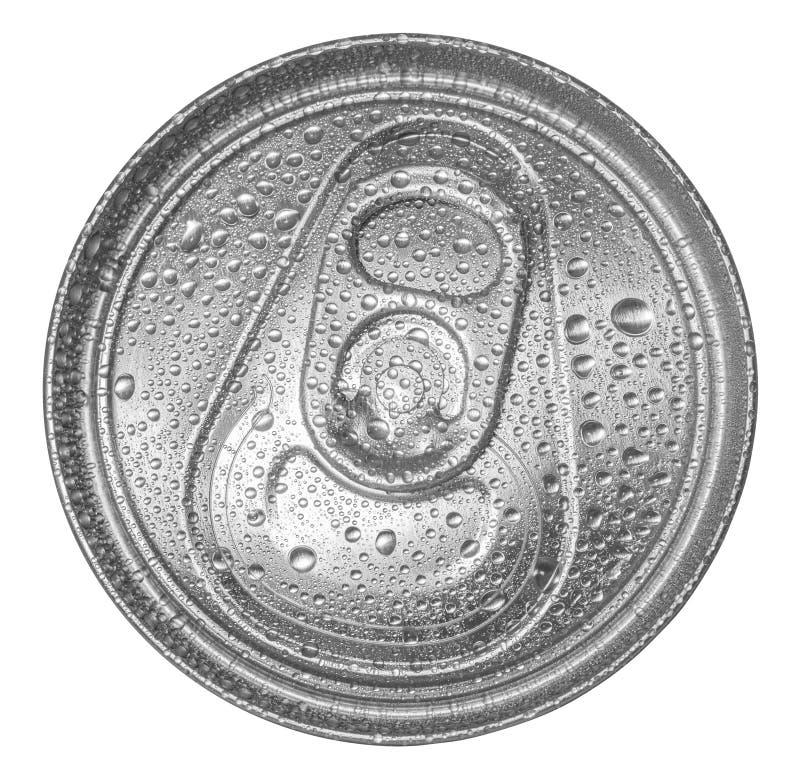 Może soda z wodnymi kroplami fotografia royalty free