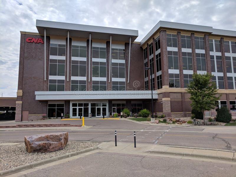 MOŻE Surety budynku główne wejście zdjęcie stock