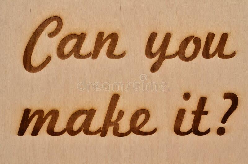 Możesz robić mię ty? zdjęcie royalty free