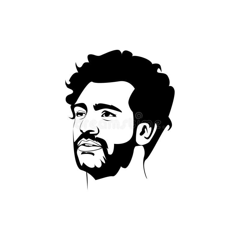 Mo Salah kreskowa sztuka ilustracji