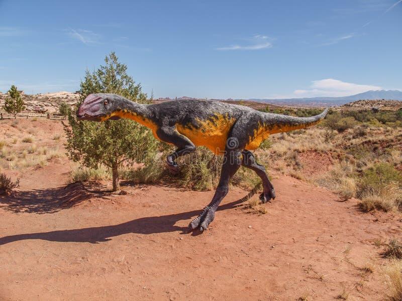 Moab giganty Muzealni w Utah obrazy royalty free