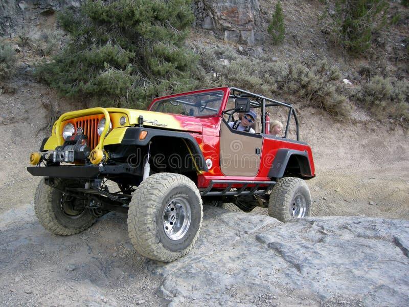 Moab Jeep Safari royalty-vrije stock afbeelding