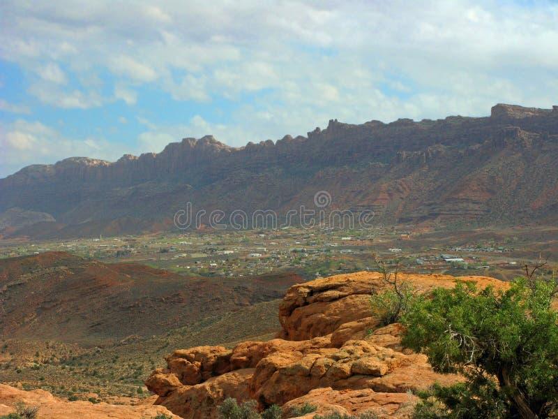 Moab Utah arkivfoto