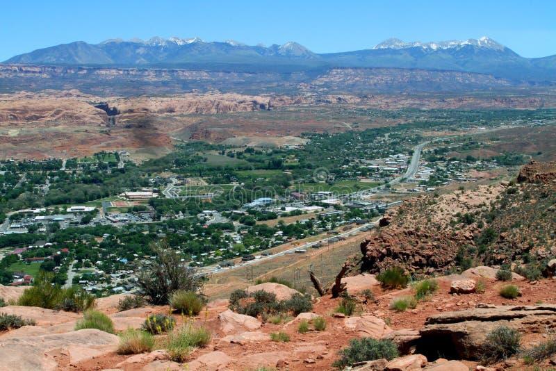 Moab Utah royaltyfria bilder