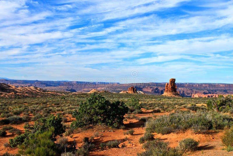 Moab, Utah image stock