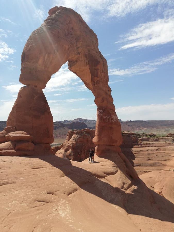 Moab Utah National Park royalty free stock photography