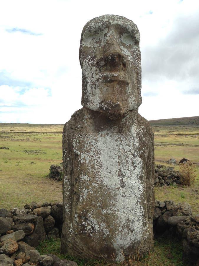 Moai fotografering för bildbyråer